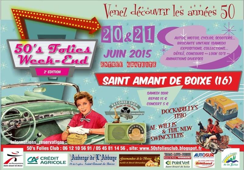 50's Folies Week-end - 20 & 21 Juin 2015 Saint Amant de Boixe (16) 11391310