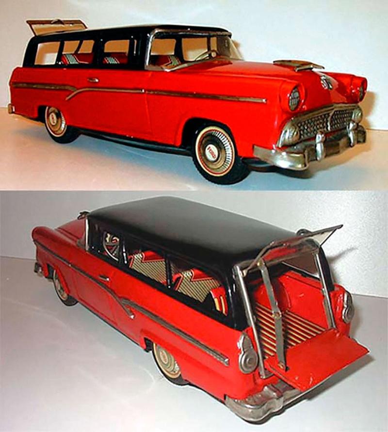 us car -  tôle - Tin Toys -  1950's & 1960's - Page 3 1144