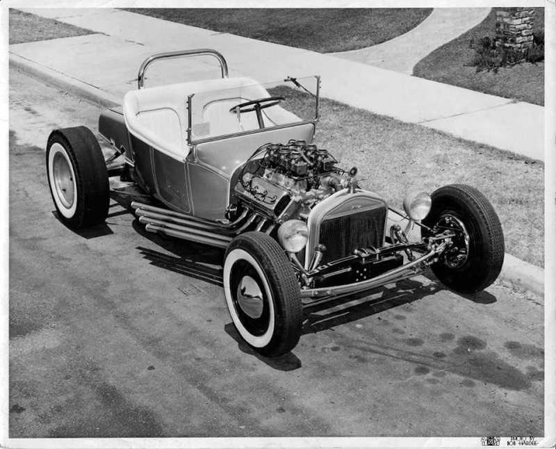 "Hot rod in street - Vintage pics - ""Photos rétros"" -  - Page 5 11707512"