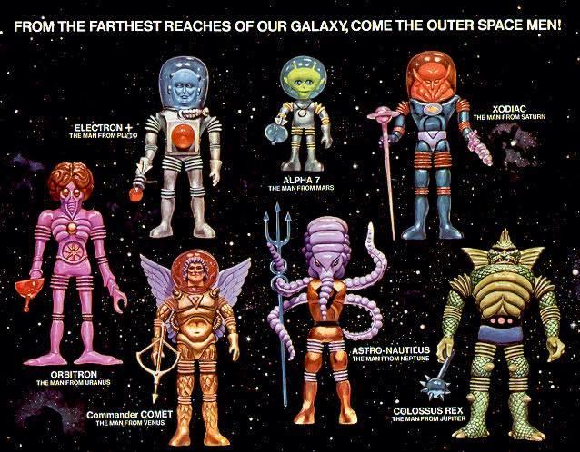 Jouets Spaciaux - Sci-Fi Toys 11800011