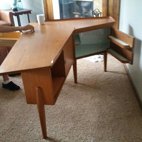 Bureaux & Mobiliers de bureaux 1950's - Office furnitures & Secretary 11800611