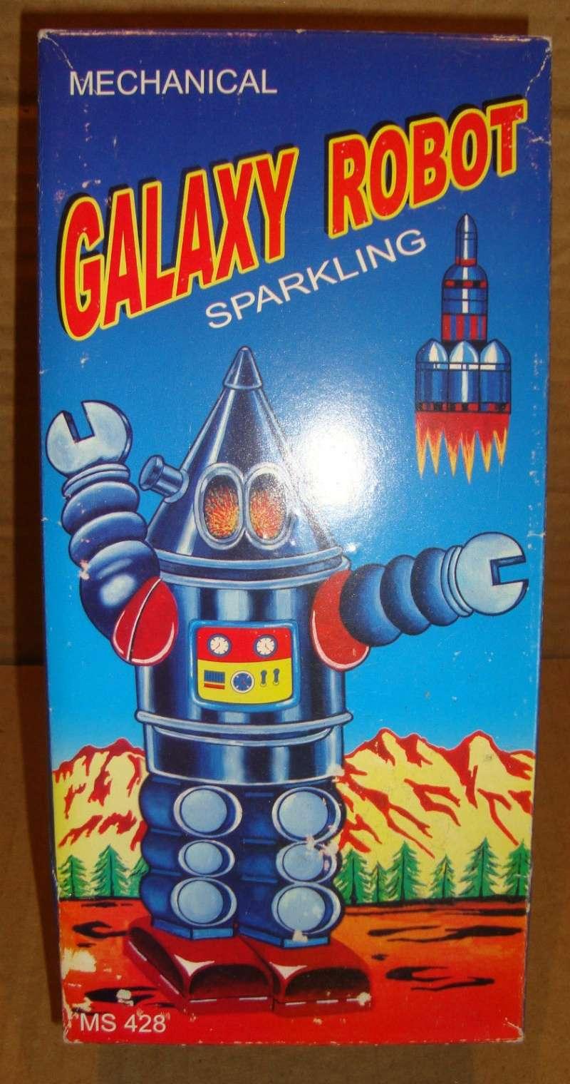Robots jouets vintages - vintage robot toys 1182