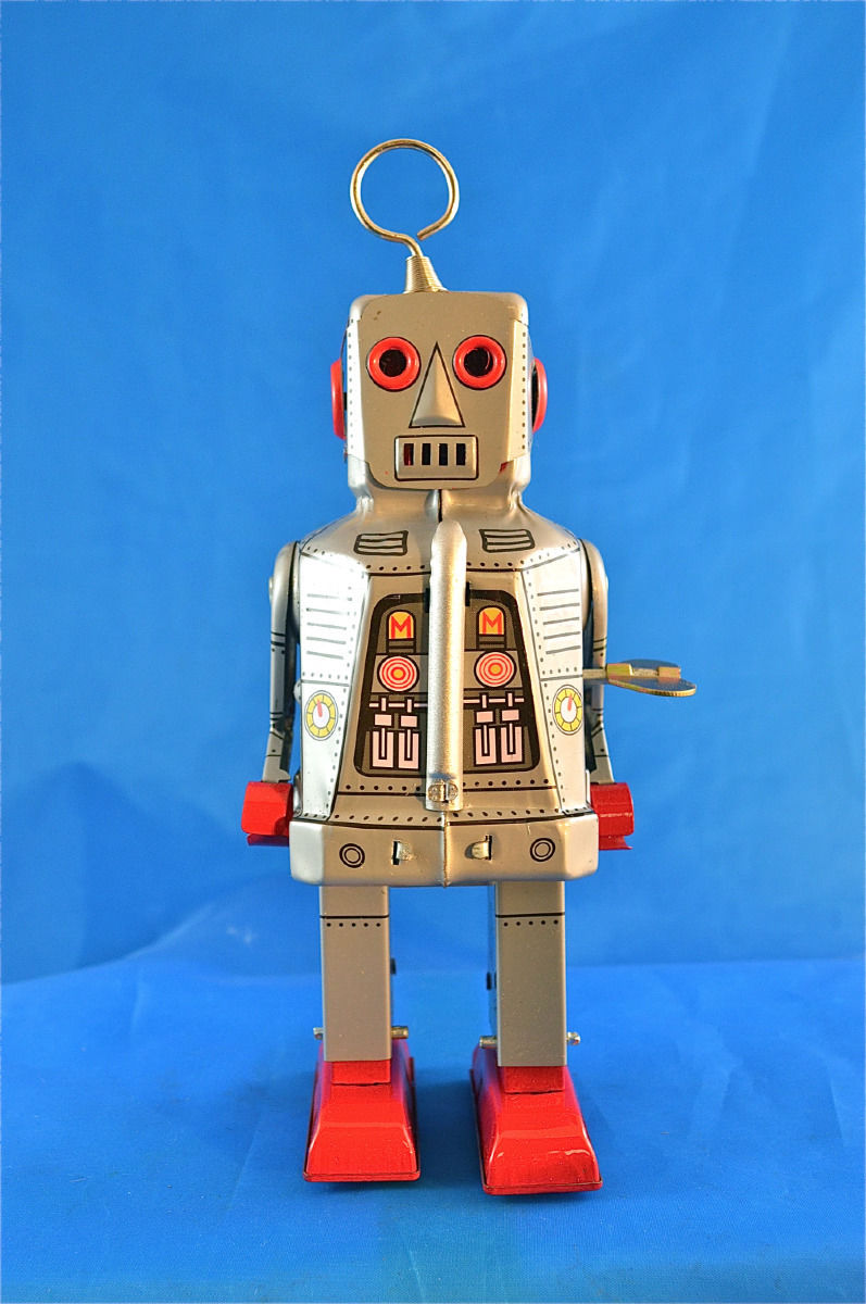 Robots jouets vintages - vintage robot toys 1184