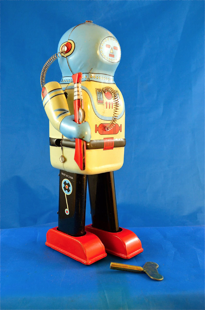 Robots jouets vintages - vintage robot toys 1186