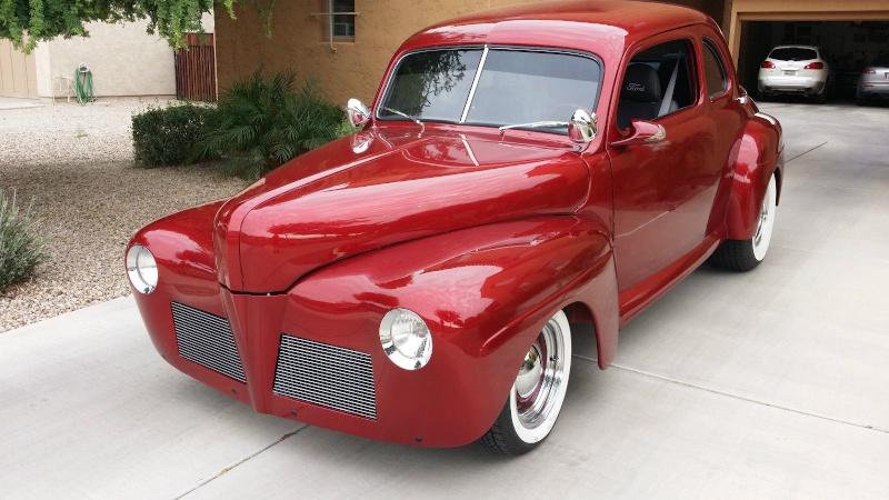 Ford & Mercury 1941 - 1948 customs & mild custom - Page 6 1256
