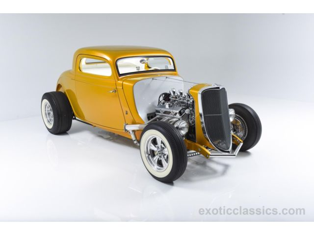 1933 Ford Custom Hot Rod - Screamin' Kat - Rick Dore 146