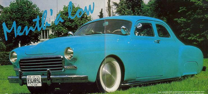 1954 Renault Fregate - Menth' A Low 181