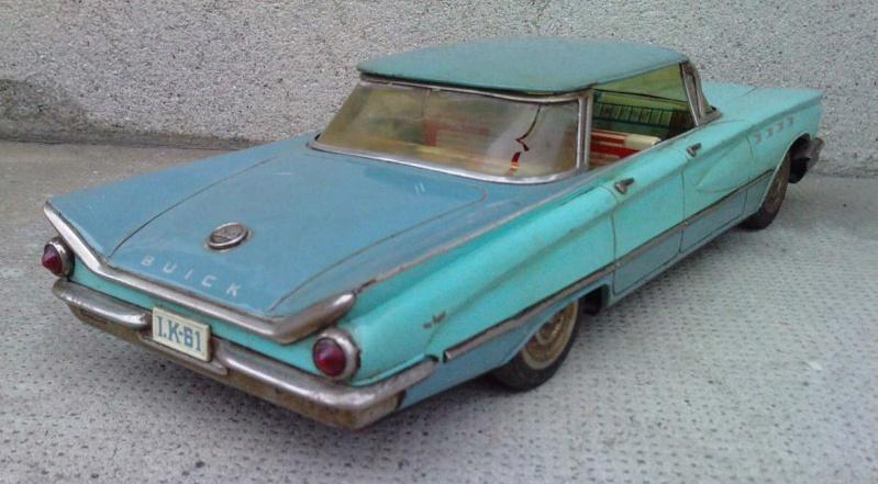 us car -  tôle - Tin Toys -  1950's & 1960's - Page 3 2154