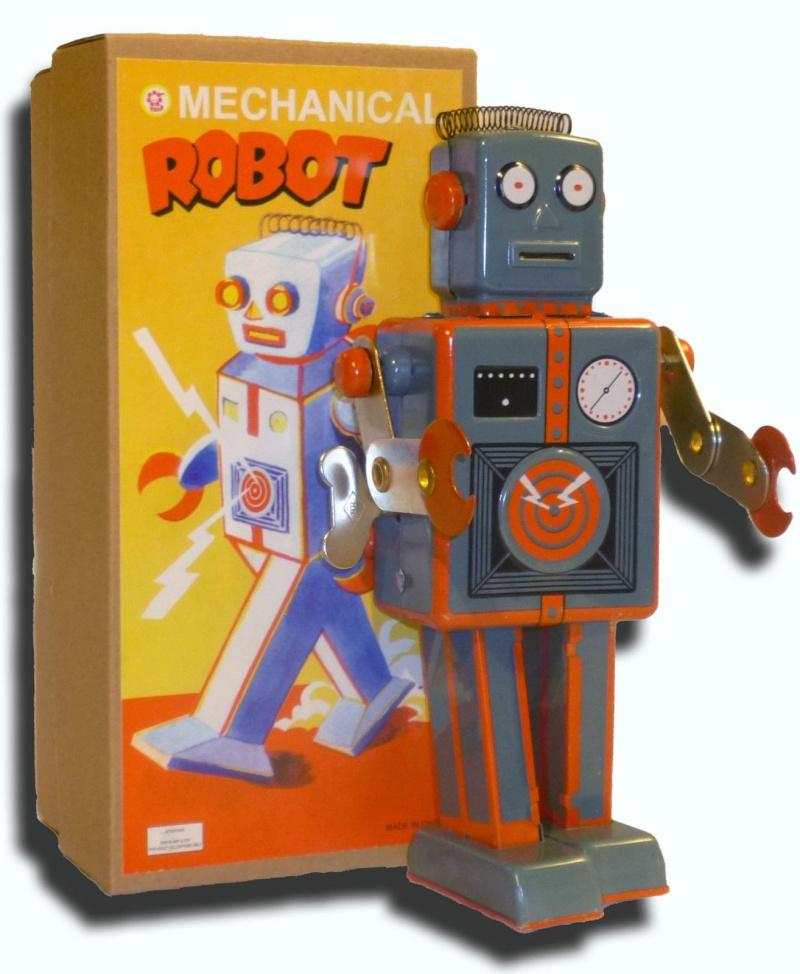 Robots jouets vintages - vintage robot toys 2169