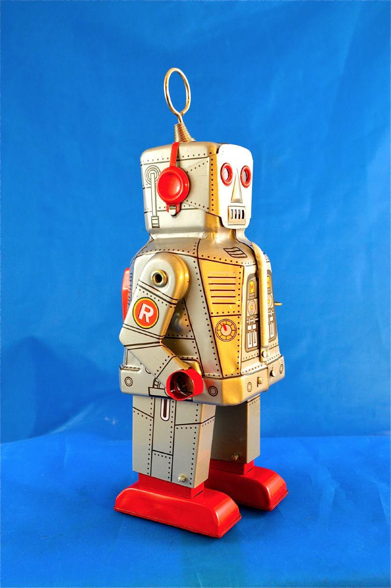 Robots jouets vintages - vintage robot toys 2170