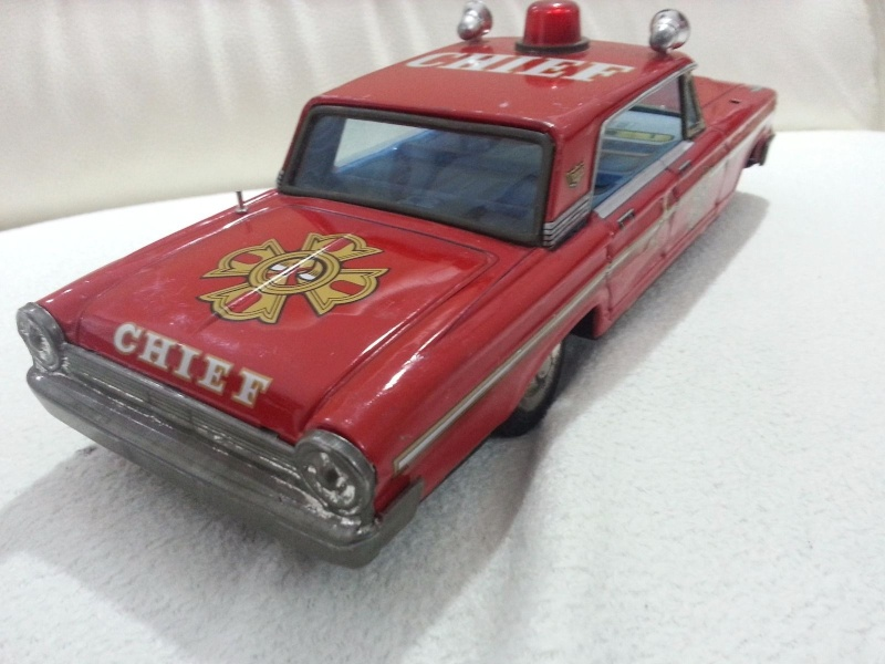 us car -  tôle - Tin Toys -  1950's & 1960's - Page 3 3142