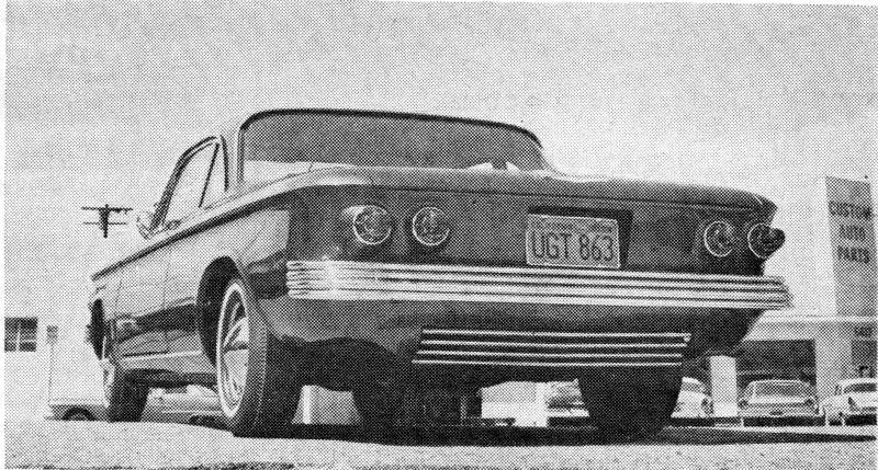 Chevrolet Corvair custom & mild custom 3182