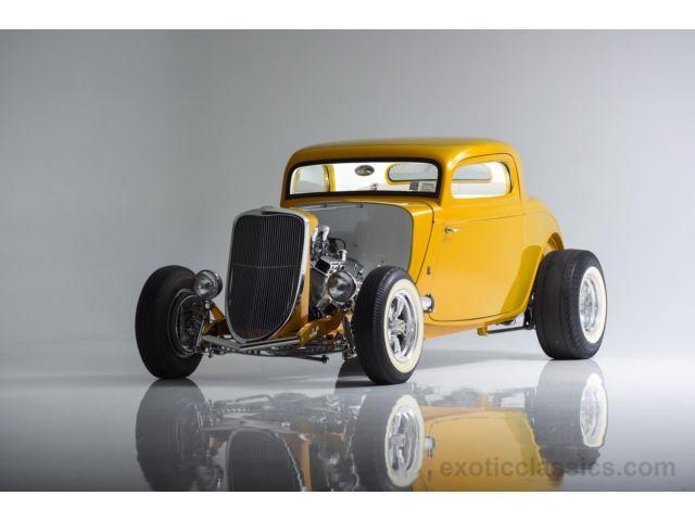1933 Ford Custom Hot Rod - Screamin' Kat - Rick Dore 337