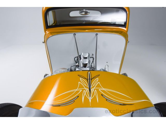1933 Ford Custom Hot Rod - Screamin' Kat - Rick Dore 338