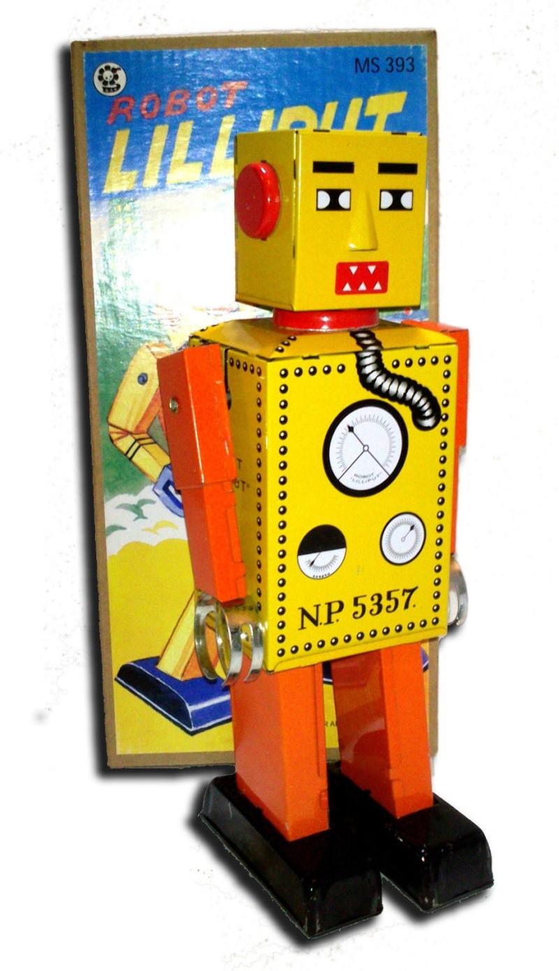 Robots jouets vintages - vintage robot toys 4132