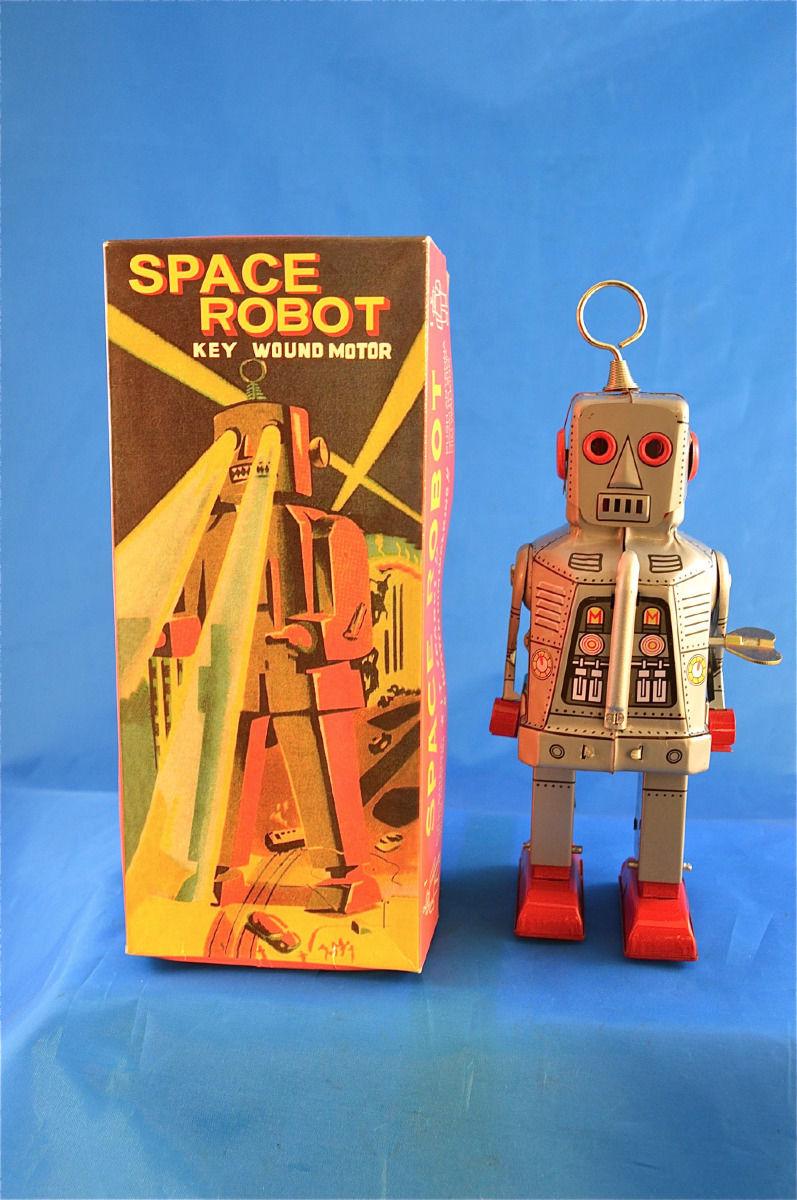 Robots jouets vintages - vintage robot toys 4133