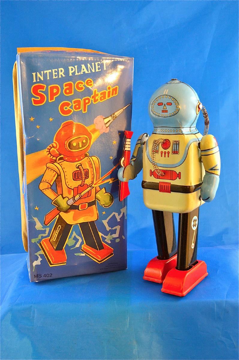 Robots jouets vintages - vintage robot toys 4134