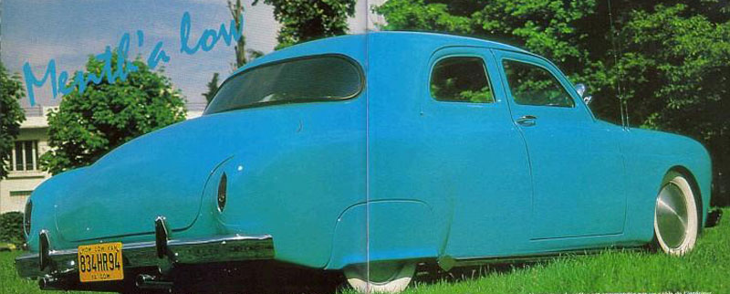 1954 Renault Fregate - Menth' A Low 458