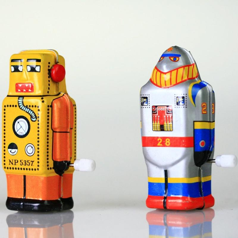 Robots jouets vintages - vintage robot toys 5123
