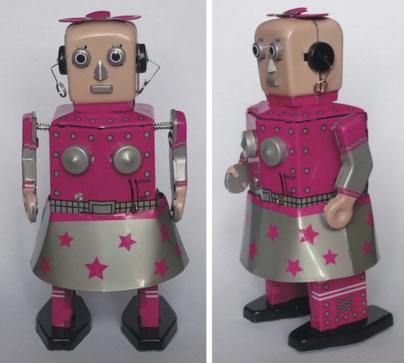 Robots jouets vintages - vintage robot toys 5124