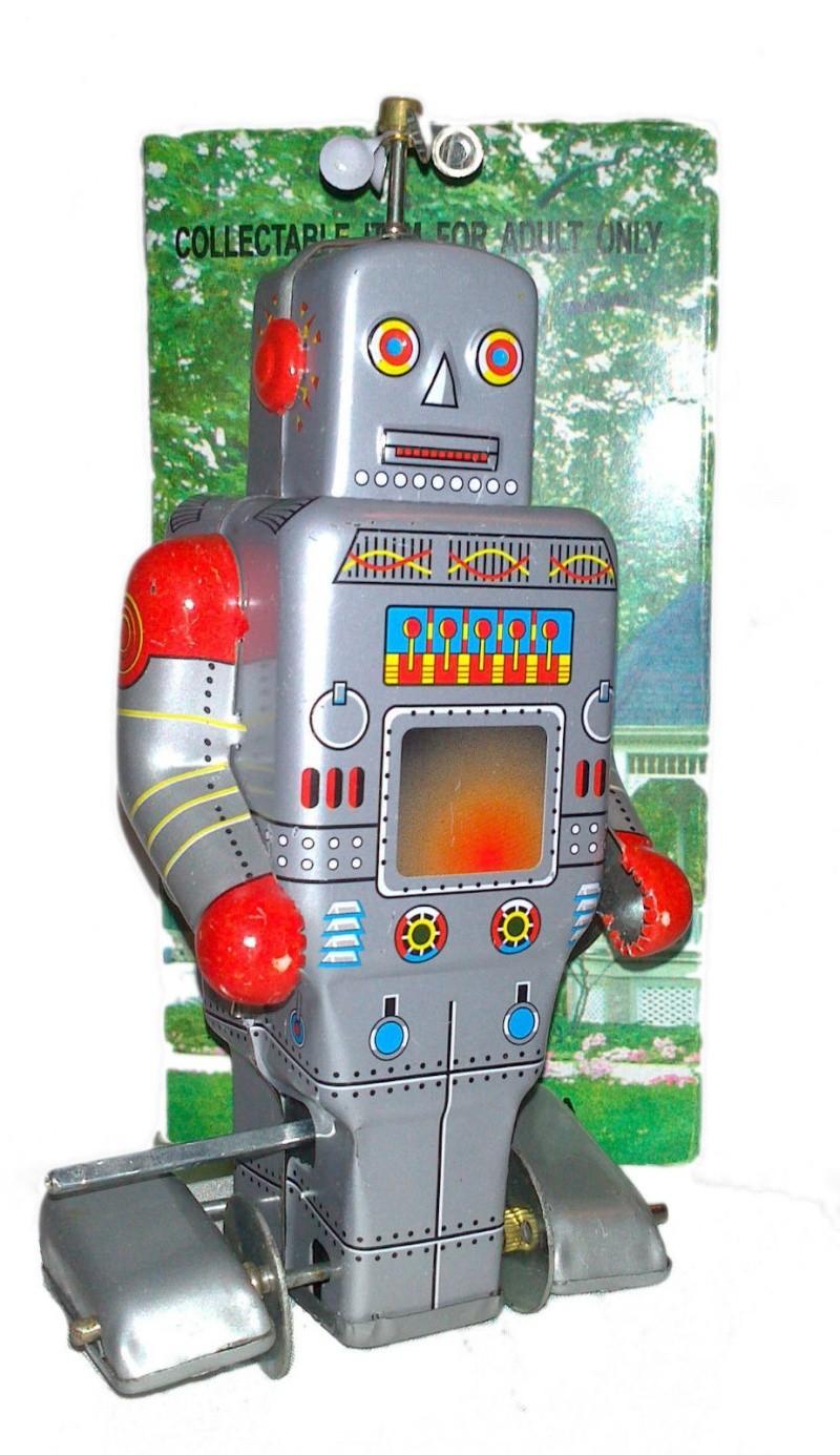 Robots jouets vintages - vintage robot toys 6109
