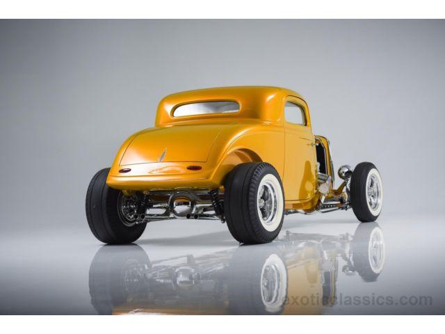 1933 Ford Custom Hot Rod - Screamin' Kat - Rick Dore 630