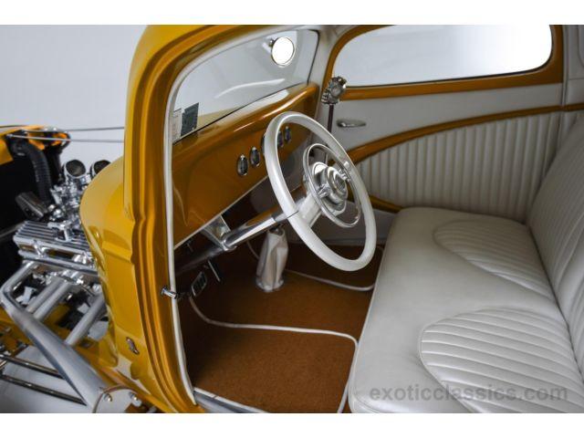 1933 Ford Custom Hot Rod - Screamin' Kat - Rick Dore 631