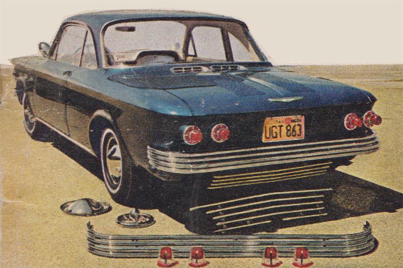 Chevrolet Corvair custom & mild custom 832