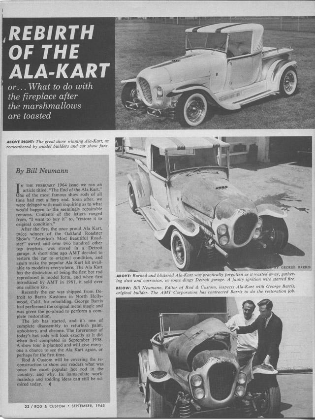 Ala Kart - George Barris Alasep12