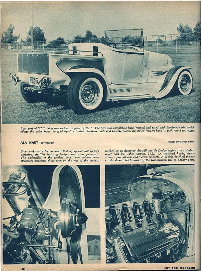 Ala Kart - George Barris Hotrod11
