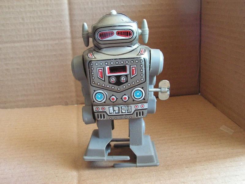 Robots jouets vintages - vintage robot toys Kgrhqj10