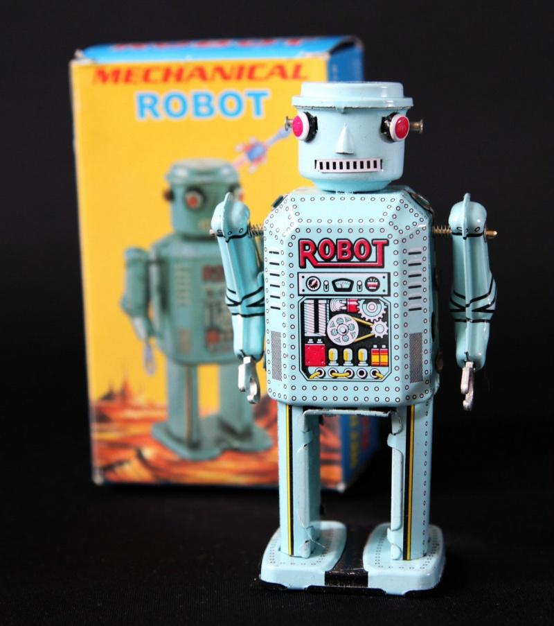 Robots jouets vintages - vintage robot toys Kgrhqz10