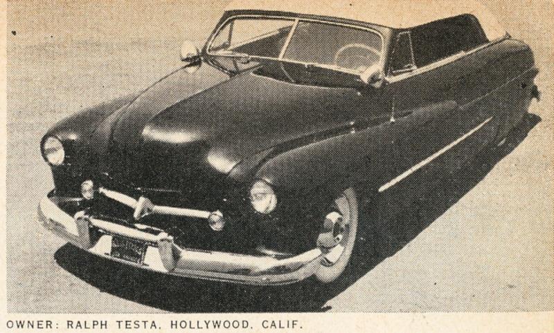 1950 Mercury convertible - Ralph Testa - Barris Kustoms Ralph-10
