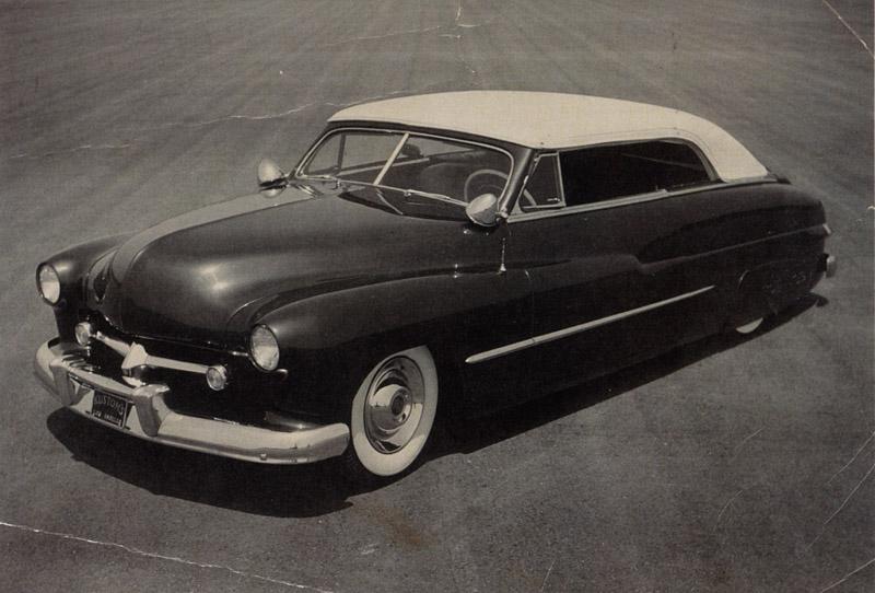 1950 Mercury convertible - Ralph Testa - Barris Kustoms Ralph-14