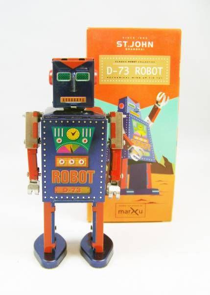 Robots jouets vintages - vintage robot toys Robot-10