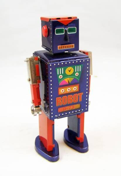 Robots jouets vintages - vintage robot toys Robot-11