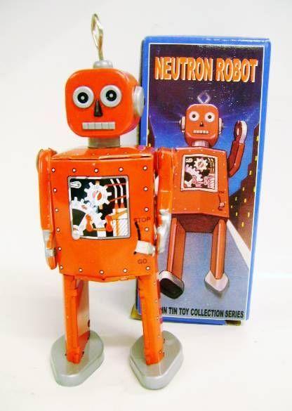 Robots jouets vintages - vintage robot toys Robot-14