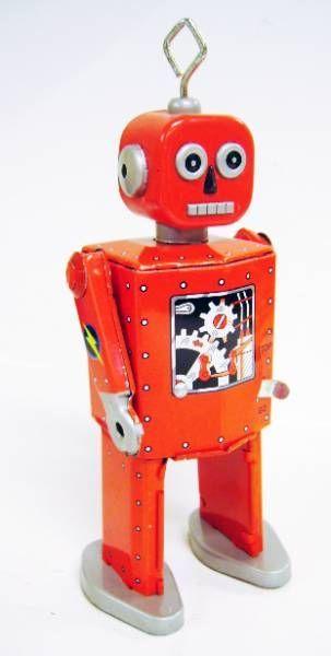 Robots jouets vintages - vintage robot toys Robot-15