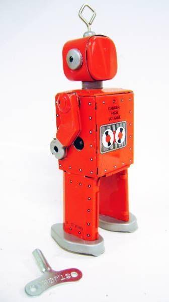 Robots jouets vintages - vintage robot toys Robot-16