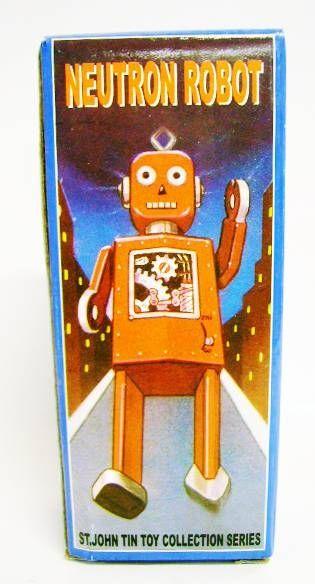 Robots jouets vintages - vintage robot toys Robot-17