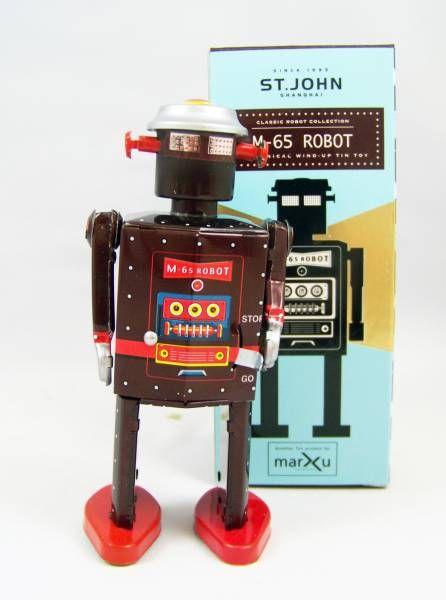 Robots jouets vintages - vintage robot toys Robot-18