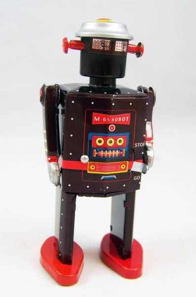 Robots jouets vintages - vintage robot toys Robot-19