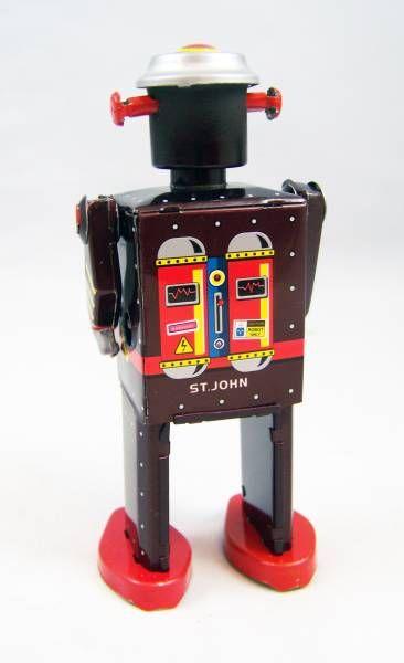 Robots jouets vintages - vintage robot toys Robot-20