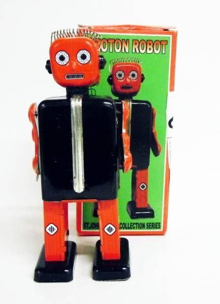 Robots jouets vintages - vintage robot toys Robot-22