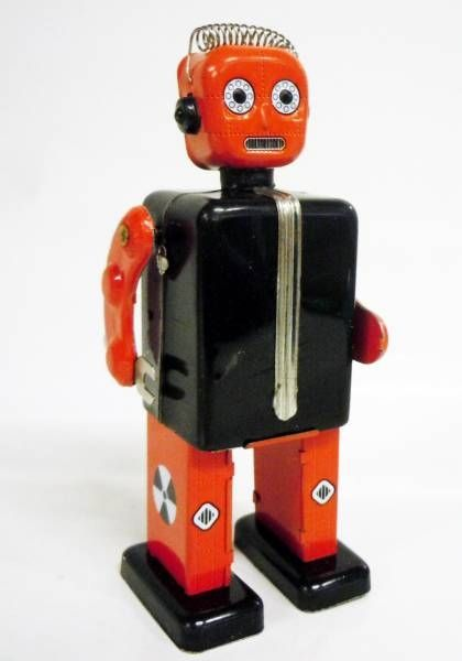 Robots jouets vintages - vintage robot toys Robot-23