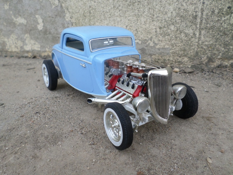 American classic car - Hot Rods & Customs 1/18 scale - Page 3 Sam_2319