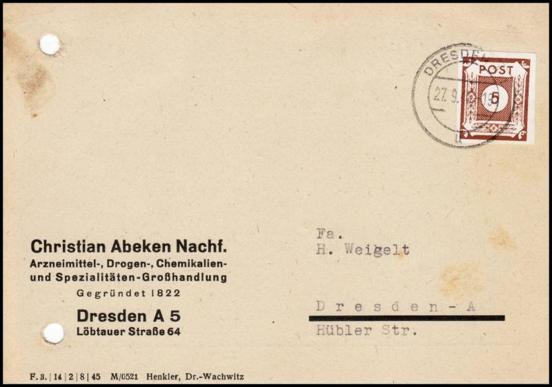 Ostsachsen (OPD Dresden) -Sowjetische Besatzungszone- - Seite 6 42a310