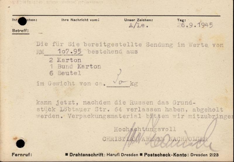 Ostsachsen (OPD Dresden) -Sowjetische Besatzungszone- - Seite 6 42a410