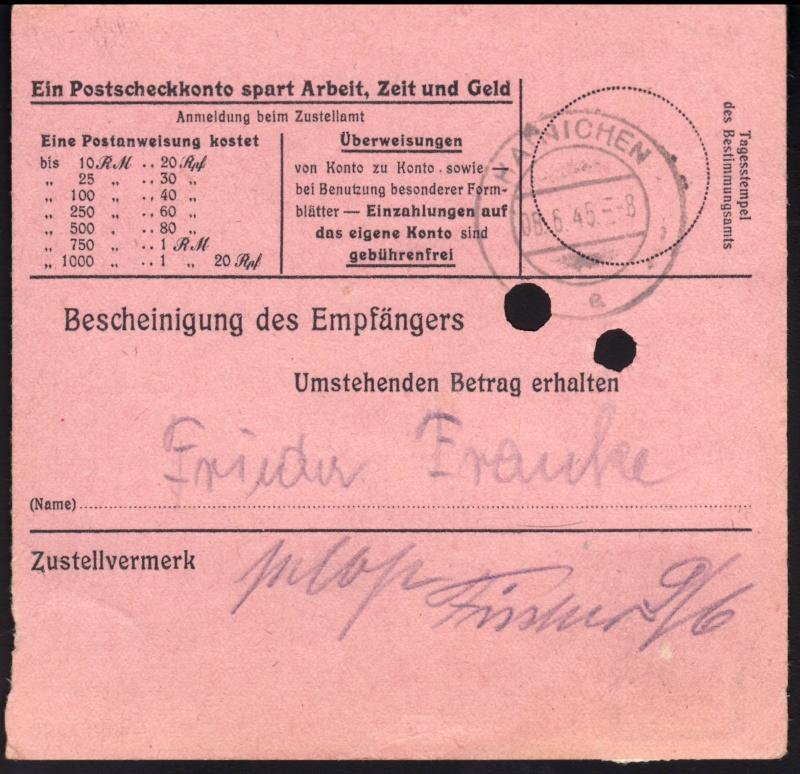 Sächsische Schwärzungen -Sowjetische Besatzungszone- Ap795-11