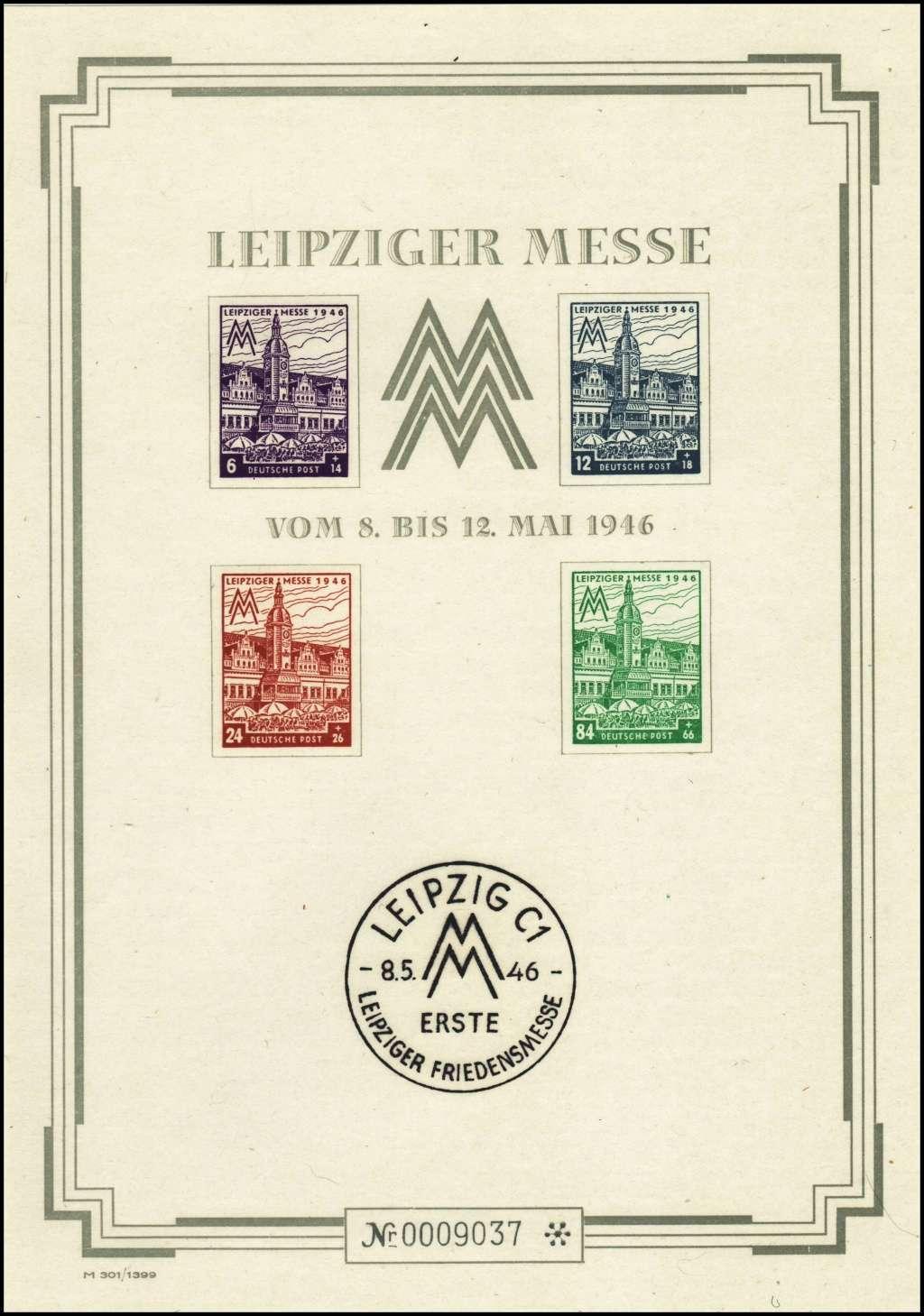 Westsachsen (OPD Leipzig) -Sowjetische Besatzungszone- Bl5s10